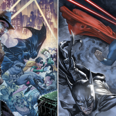 BATMAN and SUPERMAN's Serial-Era Adventures Continue in April