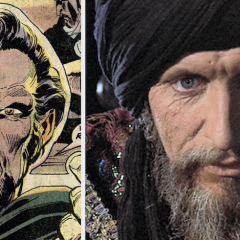 Apologies to Christopher Lee: TOM BAKER Also Would Have Been a Great RA'S AL GHUL