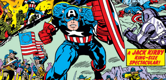 MARVEL to Re-Release CAPTAIN AMERICA's BICENTENNIAL Treasury Edition