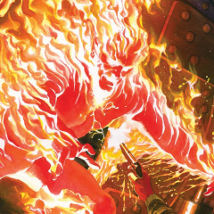 ALEX ROSS' MARVEL Project to Get Treasury Edition