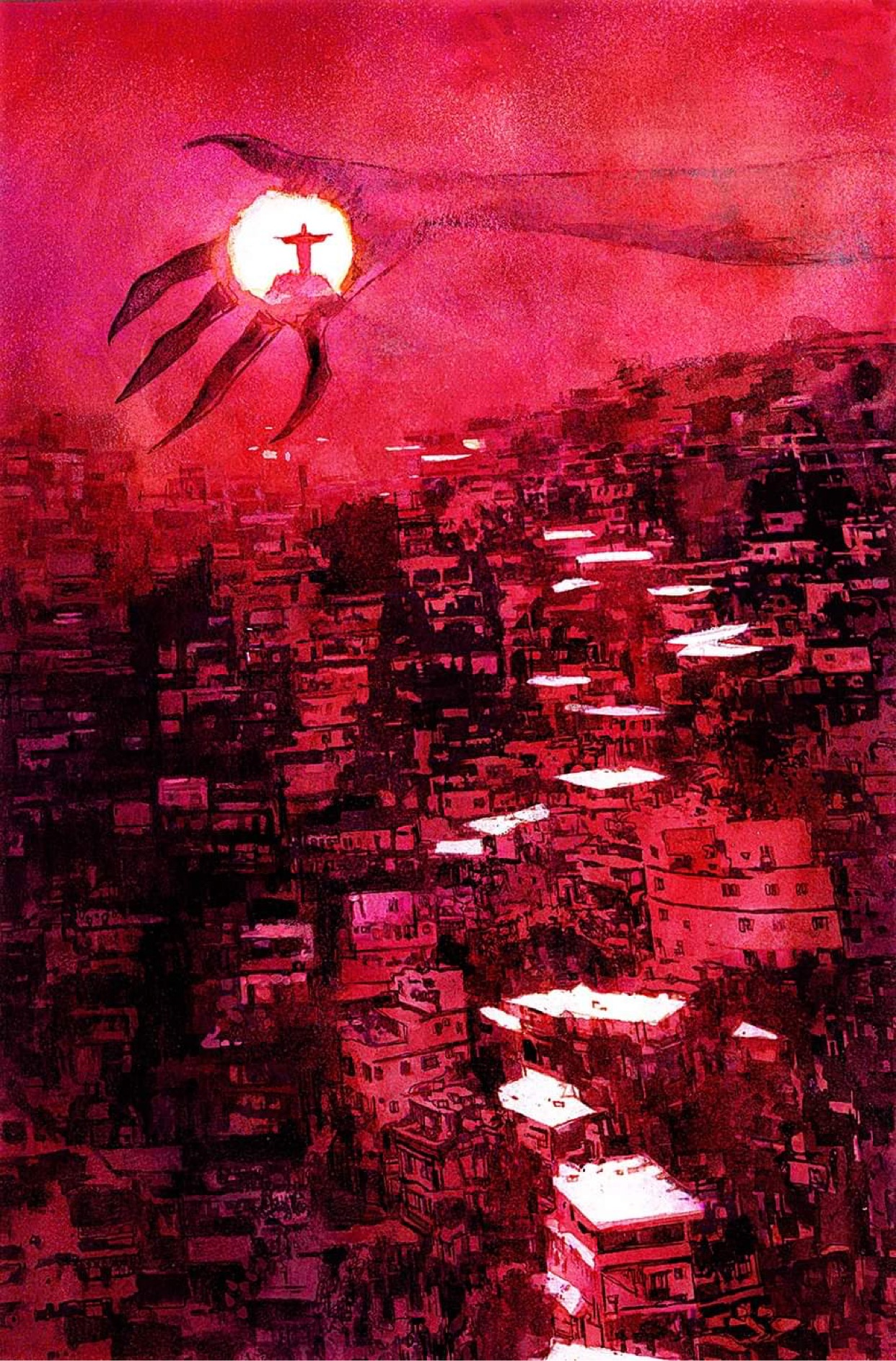 THE HOSTAGE: Dig This Gorgeous Art by ROSS, SIENKIEWICZ and MORE