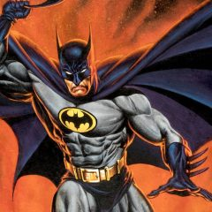 JOE JUSKO's Magnificent BATMAN Portrait – and Why He Forgot About It for Decades