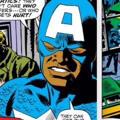 When THE FALCON First Took Up CAPTAIN AMERICA's Shield