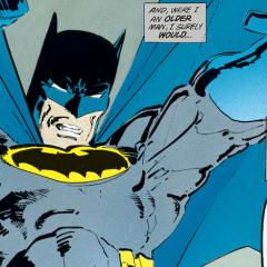 DARK KNIGHT RETURNS: A Storytelling Landmark — Whose Cracks Show 35 Years Later