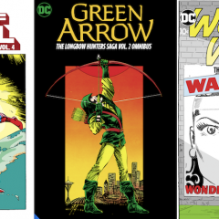 DC COMICS to Unleash Raft of New Major Hardcover Collections