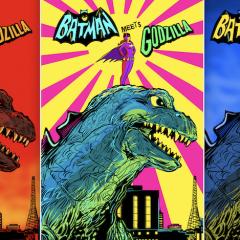 SNEAK PEEK: BATGIRL Stands Tall in BATMAN '66 MEETS GODZILLA #3