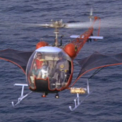Original 1966 BATCOPTER Ready to Fly Again in 2021