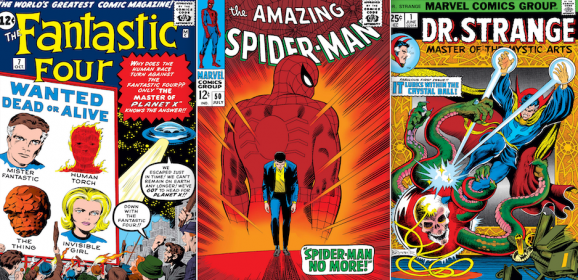 SPIDEY, FANTASTIC FOUR Lead Fall Run of EPIC COLLECTION Re-Releases