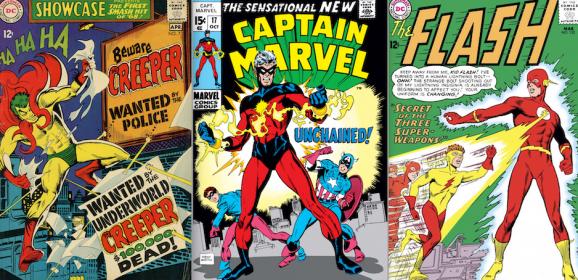 PAUL KUPPERBERG: My 13 Favorite 1960s SUPERHERO COSTUMES