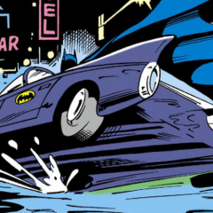 Just Look at This Unsung BATMAN Splash Page by DON NEWTON