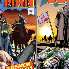Dig NEAL ADAMS' BATMAN #244-Inspired Variant Cover for THE JOKER #4