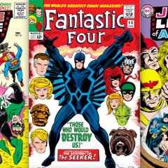 SILVER AGE DEATH MATCH: Justice League of America vs. Fantastic Four