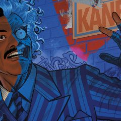 REVEALED! TWO-FACE Takes Center Stage on BATMAN '89 #2 Cover