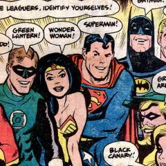 Bask in ALEX TOTH's JUSTICE LEAGUE: A Birthday Celebration