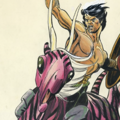 A Powerful Piece of History: NEAL ADAMS Plans Sale of Landmark GIL KANE Art