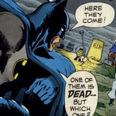 BATMAN MEETS THE BEATLES: He Came in Through the Bat-Room Window