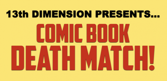 The COMIC BOOK DEATH MATCH Index