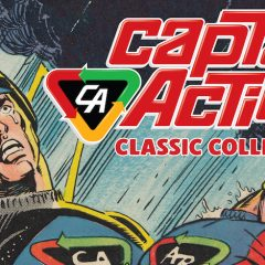 IDW Sets Date for Classic CAPTAIN ACTION Comics Hardcover Collection