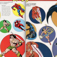 The Bronze Age Glory of SUPERHERO STICK-ONS