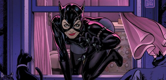 FIRST LOOK: CATWOMAN Gets Cover Spotlight in BATMAN '89 #5