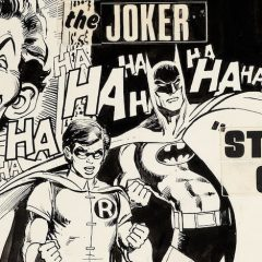 Feast Your Eyes on NEAL ADAMS' Original STACKED CARDS Cover